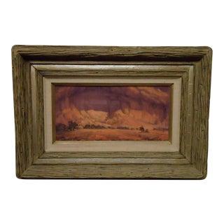 Canyon Landscape Painting by Dan Garrett For Sale
