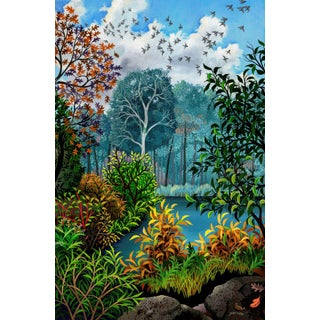 """""""The Far Shore"""" Contemporary Landscape Giclee Reproduction by Wynn Yarrow For Sale"""