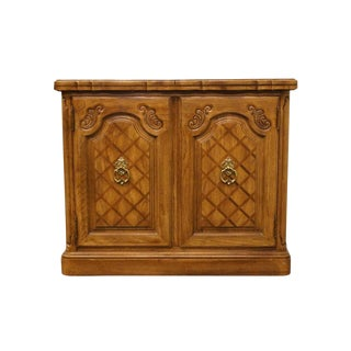 20th Century French Country Thomasville Furniture Camille Collection Flip-Top Server/Buffet For Sale
