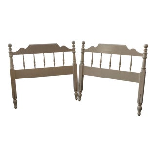 Twin Maple Headboards - a Pair