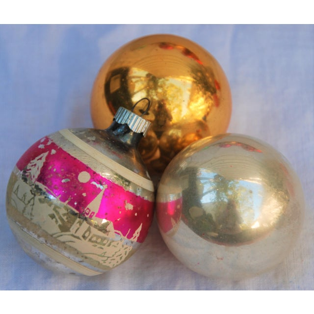 Vintage Christmas Ornaments - Set of 43 - Image 5 of 11