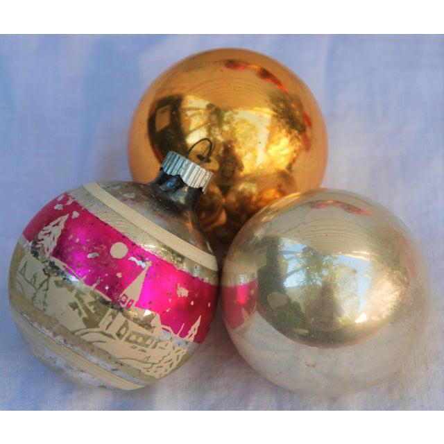 Vintage Christmas Ornaments - Set of 43 - Image 5 of 11