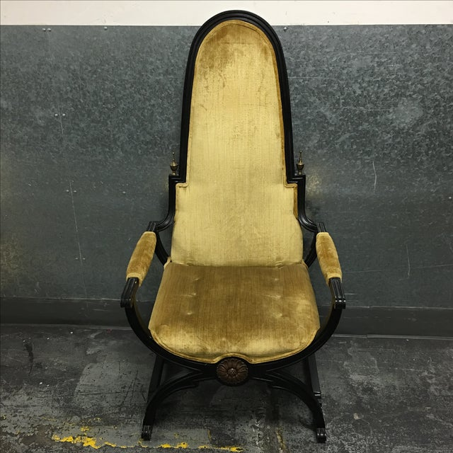 Circa 1930's Empress Chair - Image 2 of 9