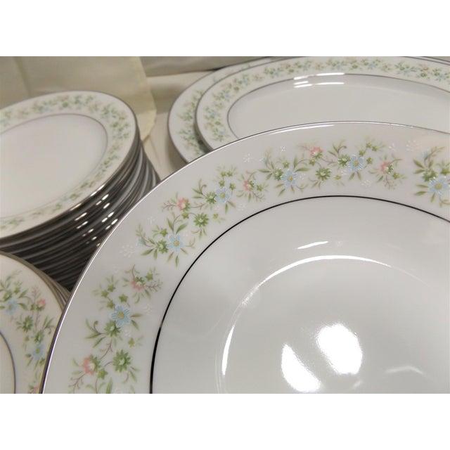 White Vintage Noritake Savannah Dinnerware For Sale - Image 8 of 10