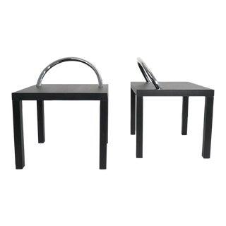 Pair of Shiro Kuramata Ko-Ko Tables For Sale