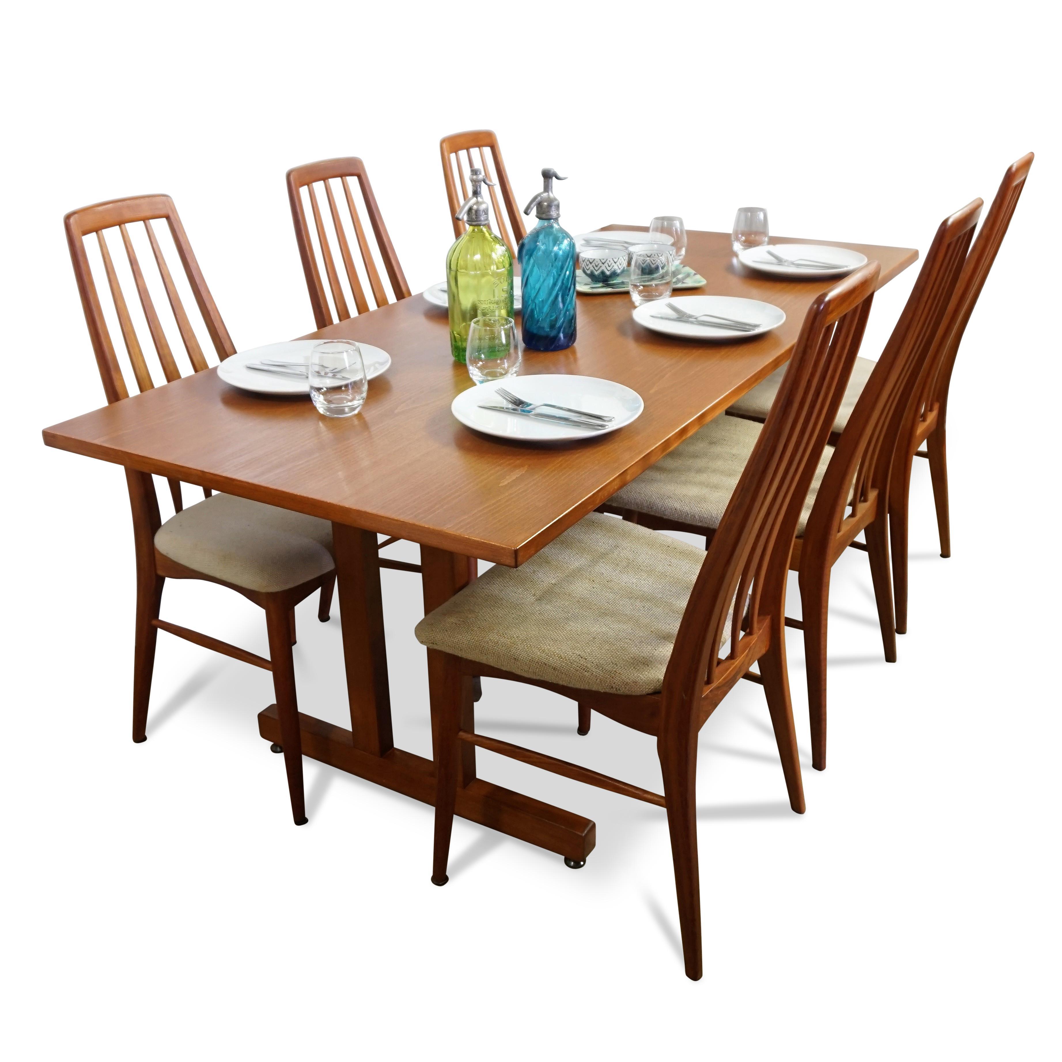 Danish Modern Hans J. Wegner Shaker Dining Table   Image 3 Of 11