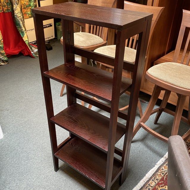 Folding Bookcase For Sale - Image 9 of 11