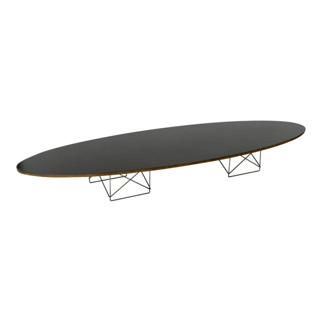 "Eames Elliptical ""Surfboard"" ETR Coffee Table - Image 1 of 11"