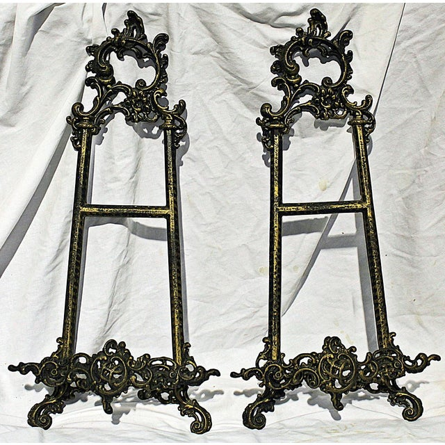 Metal Hanging Rococo Picture Holders For Sale - Image 7 of 8