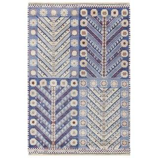Vintage Scandinavian Marta Maas Marianne Richter Pile Rug - 4′8″ × 7′
