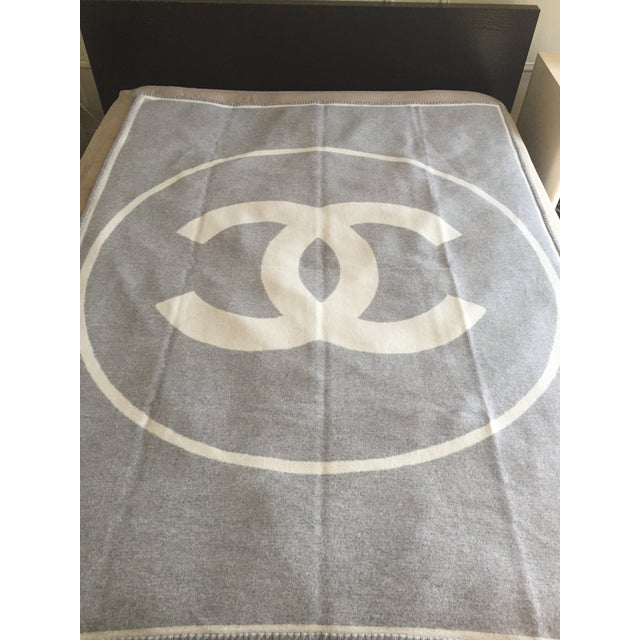 Chanel Wool Blanket - Image 2 of 6