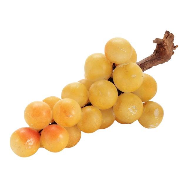 Vintage Italian Alabaster Grape Cluster For Sale