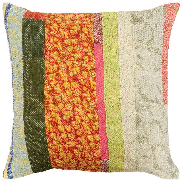 Boho Chic Style Mango Man Pillow For Sale - Image 4 of 4