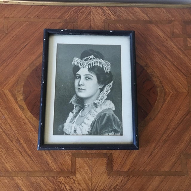 Early 20th Century Vintage Picture of a Lady For Sale - Image 5 of 5