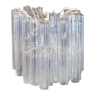 Italian Glass Entry Pendant Lamp by Venini For Sale