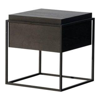 Gustav Oak Accent Table For Sale
