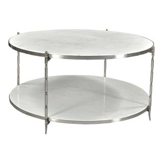 Blanco Marble Coffee Table