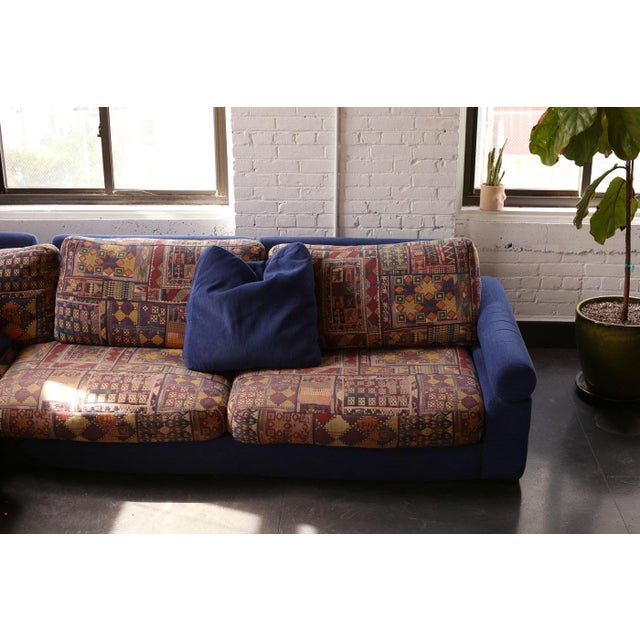 Roche Bobois Roche Bobois Vintage Sectional Sofa For Sale - Image 4 of 6