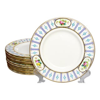 Antique Early 20th Century Mintons Plates - Set of 12 For Sale