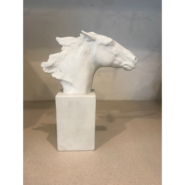 Horse Head Hannibal Rosenthal Statue by Albert Hussman For Sale - Image 4 of 7