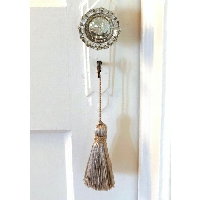 2020s Petite Natural Color Tassels - a Pair For Sale - Image 5 of 10