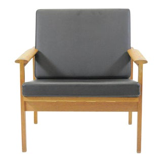 1960s Illum Wikkelsø Danish Capella Lounge Chair For Sale