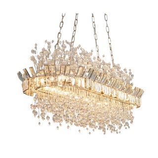 """Diplomat"" Chandelier by Ceno Kosak For Sale"
