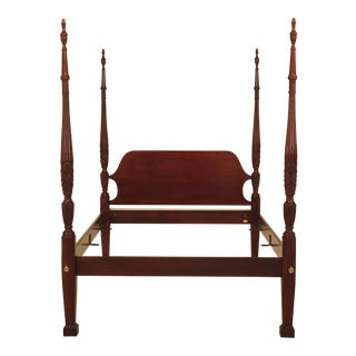 Councill Craftsmen Queen Size Mahogany Poster Bed