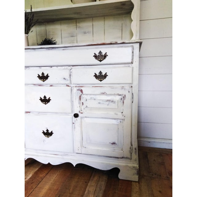 1920s European Farmhouse Buffet With Hutch For Sale - Image 5 of 6