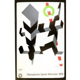 Image of 1972 Abstract Poster Print for the Olympics Munich by Allan D'Arcangelo For Sale