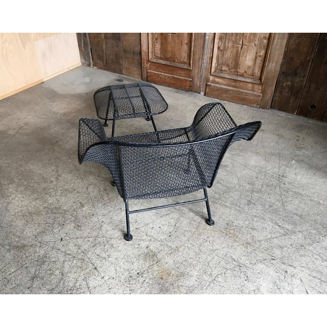 """Mid-Century Modern Russell Woodard """"Sculptra"""" Lounge Chair and Ottoman For Sale - Image 3 of 6"""