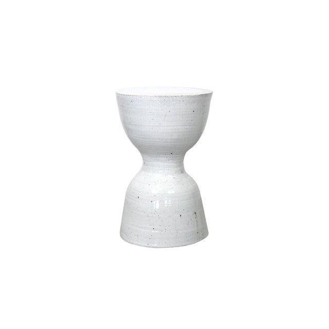 Large Tariki Ceramic Stool For Sale - Image 4 of 12