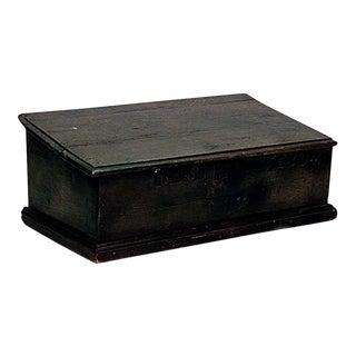 English Renaissance Oak Bible Box For Sale