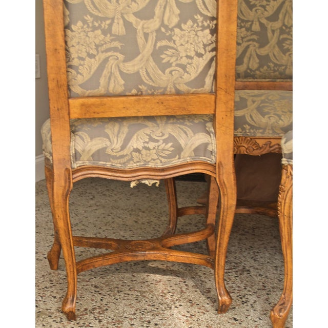 1990s Vintage Fairfield Dining Chairs - Set of 6 For Sale - Image 10 of 12