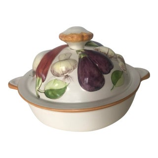 1970s Covered Vegetable Casserole For Sale