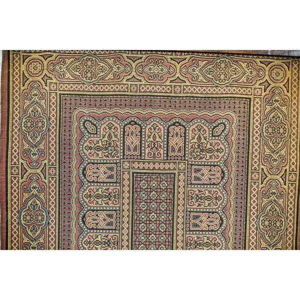 Late 19th Century 19th-Century Coat Hanger with a Tapestry For Sale - Image 5 of 13