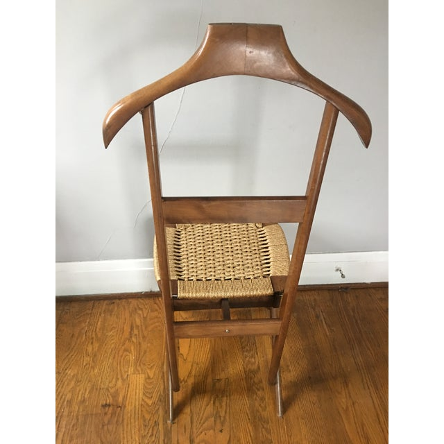 Italian Mid Century Italian Valet Chair For Sale - Image 3 of 7