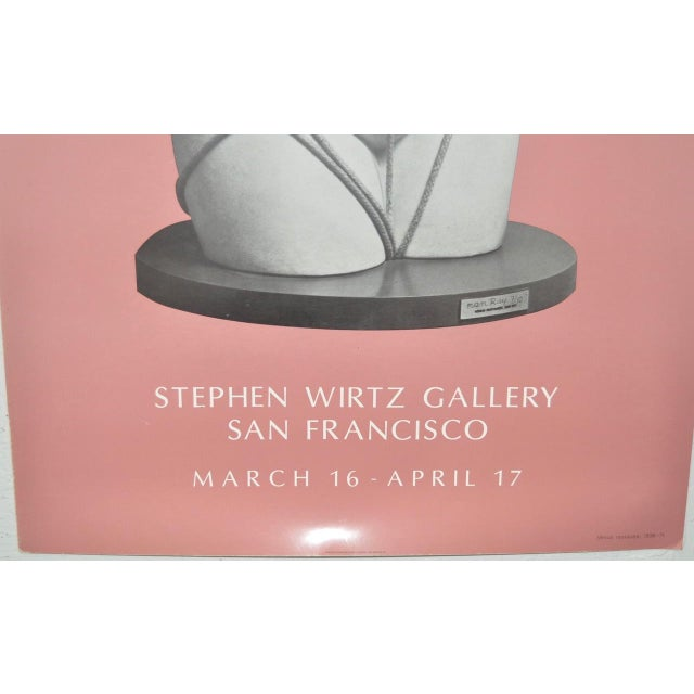 Circa 1971 Stephen Wirtz Gallery Man Ray Exhibition Poster - Image 3 of 5