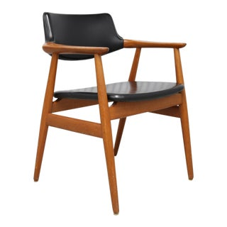 Mid-Century Svend Åge Eriksen for Glostrup Møbelfabrik Danish Armchair For Sale