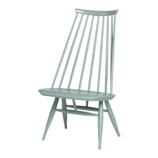 Mademoiselle Lounge Chair in Sage by Ilmari Tapiovaara & Artek For Sale