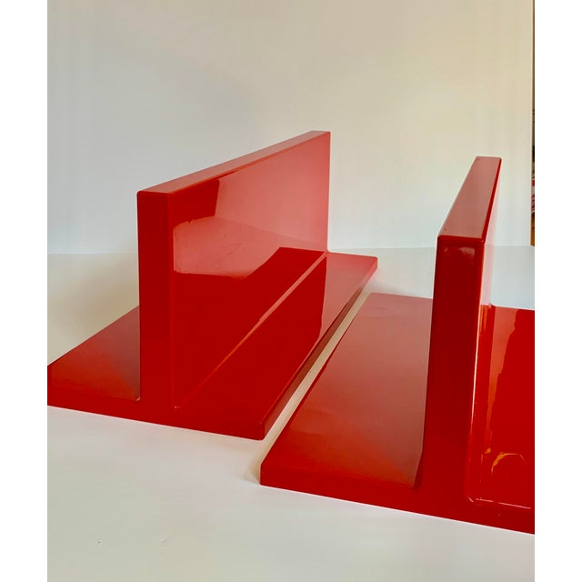 Kartell Vintage Kartell Plastic Shelves-a Pair For Sale - Image 4 of 12