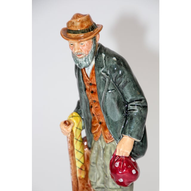 """Royal Doulton """"The Gaffer"""". Made in England, by Royal Doulton England, """"The Gaffer"""". Royal Doulton, H.N. 2053, finely..."""