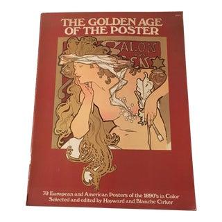 Vintage Art Nouveau Poster Book For Sale