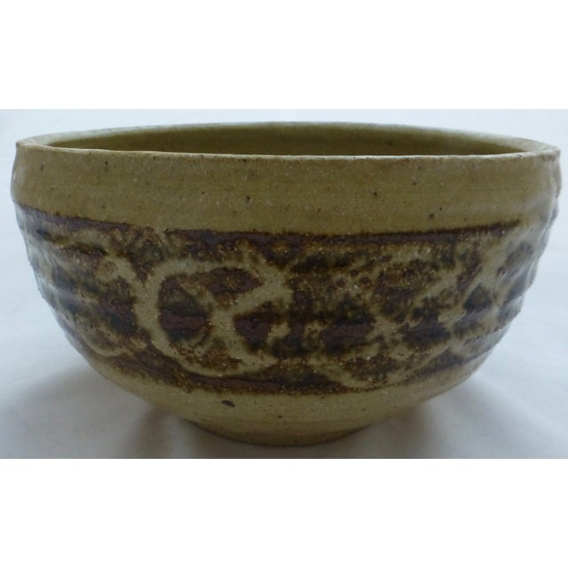 Mid-Century Studio Pottery Decorated Bowl - Image 2 of 11