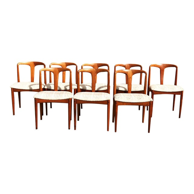 Mid-Century 'Juliane' Dining Chairs - Set of 8 - Image 1 of 6