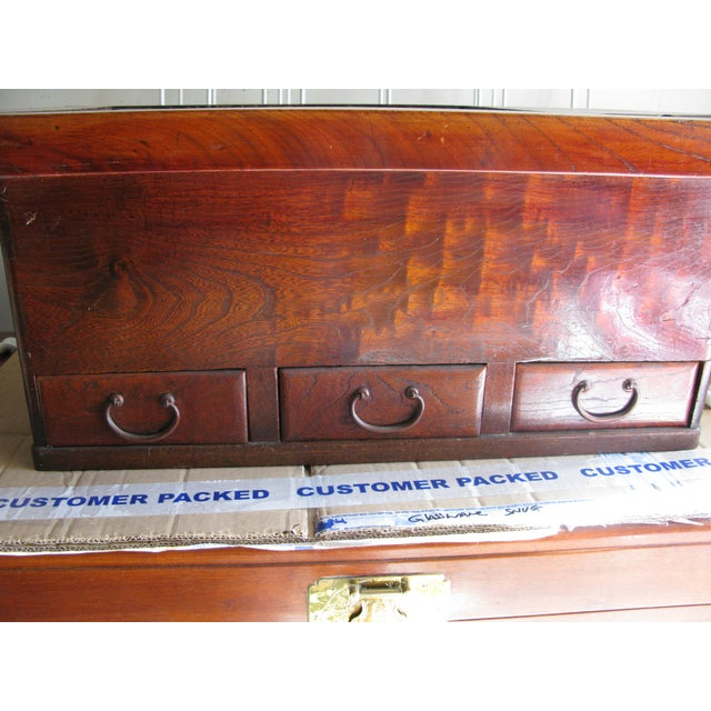 Antique Rosewood Hibachi Table For Sale - Image 5 of 6