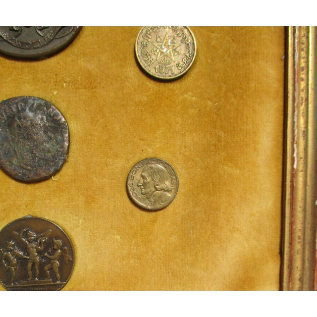 Medallion and Coin Framed Collection For Sale - Image 4 of 7