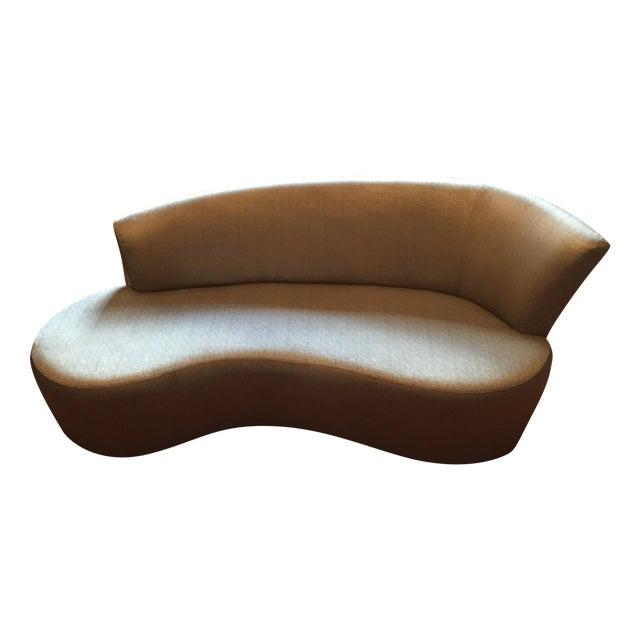 Vladimir Kagan Biomorphic Sofa by Weiman - Image 1 of 7