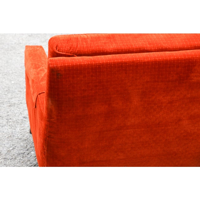 Textile 1950s Paul McCobb Custom Craft Sofa For Sale - Image 7 of 10