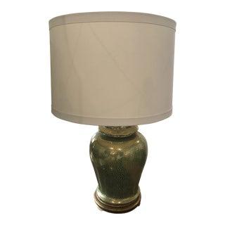 Large Chinese Porcelain Ginger Jar Lamp For Sale